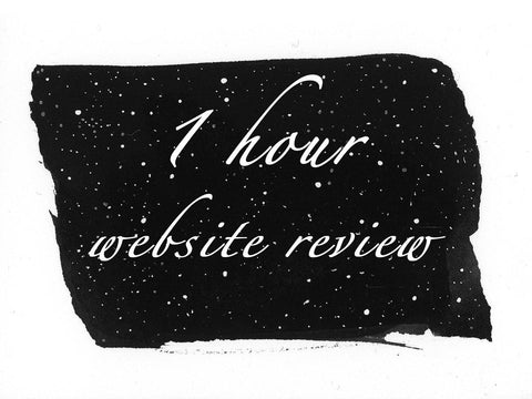 One Hour Website Review - Beth Cyr Handmade Jewelry