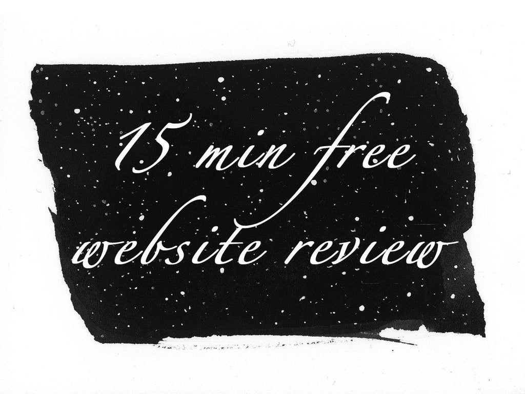 Free 15 Minute Website Review - Beth Cyr Handmade Jewelry
