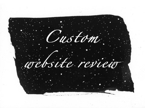 Custom Website Review - Beth Cyr Handmade Jewelry