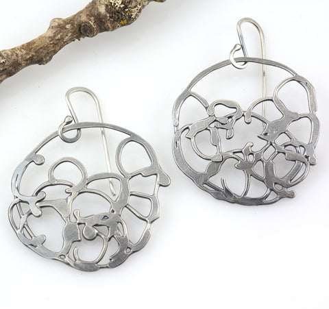 Circle Vine Earrings - Size Small - Ready to Ship