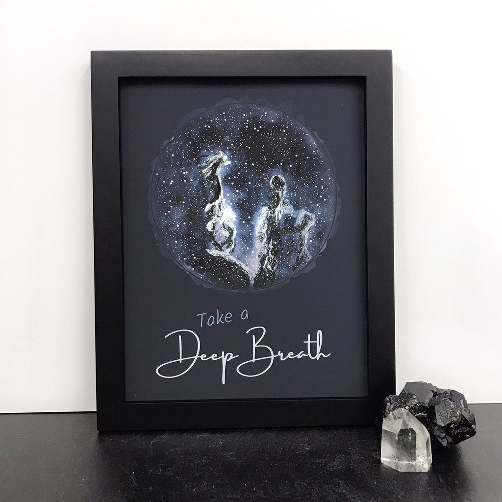 Take a Deep Breath - Nebula - Art Print