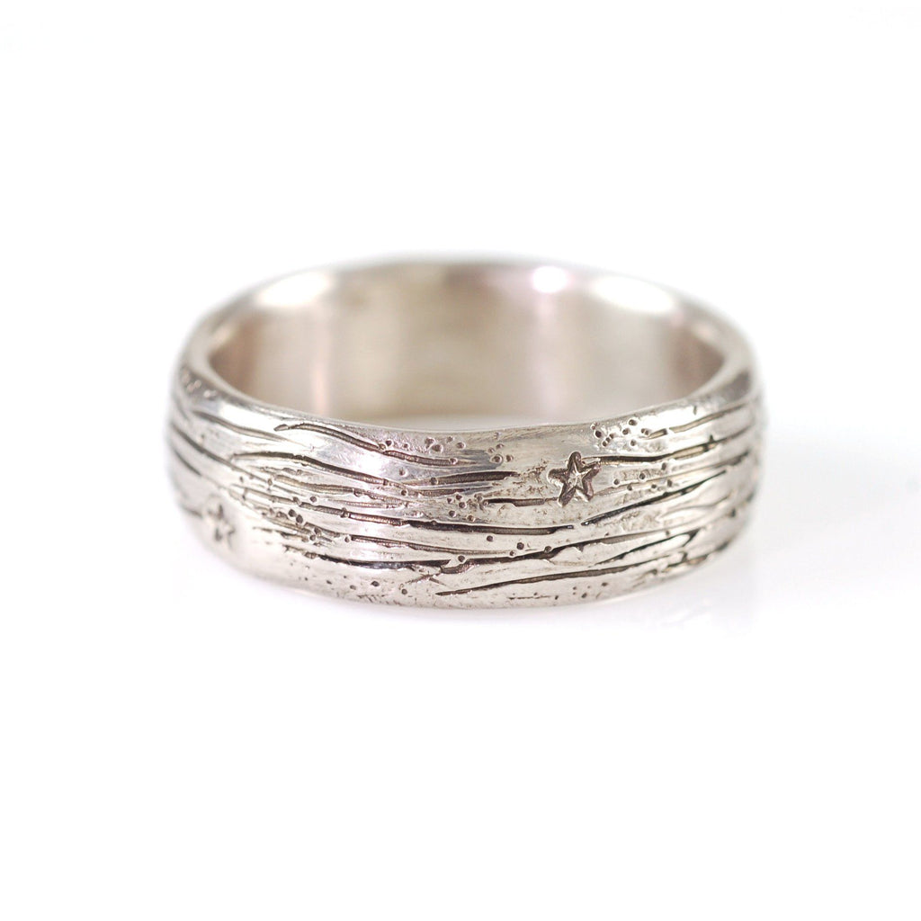 Galaxy Ring in Palladium/Silver - Made to Order