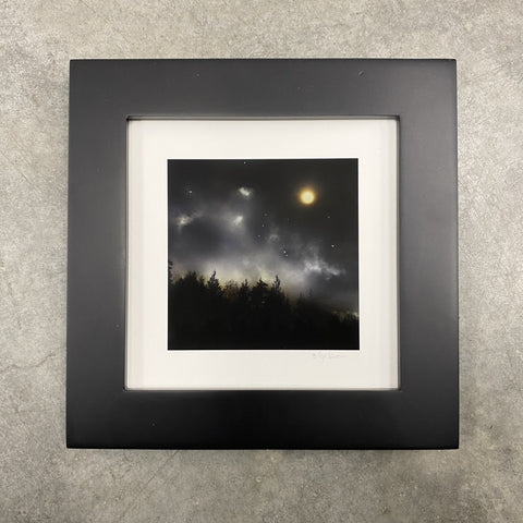 Winter Night Sky 30 - The magic of Orion - Photo Composite Print 1