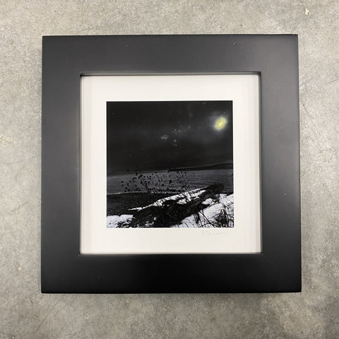 Winter Night Sky 32 - Snowy beach, starry sky - Photo Composite Print 3
