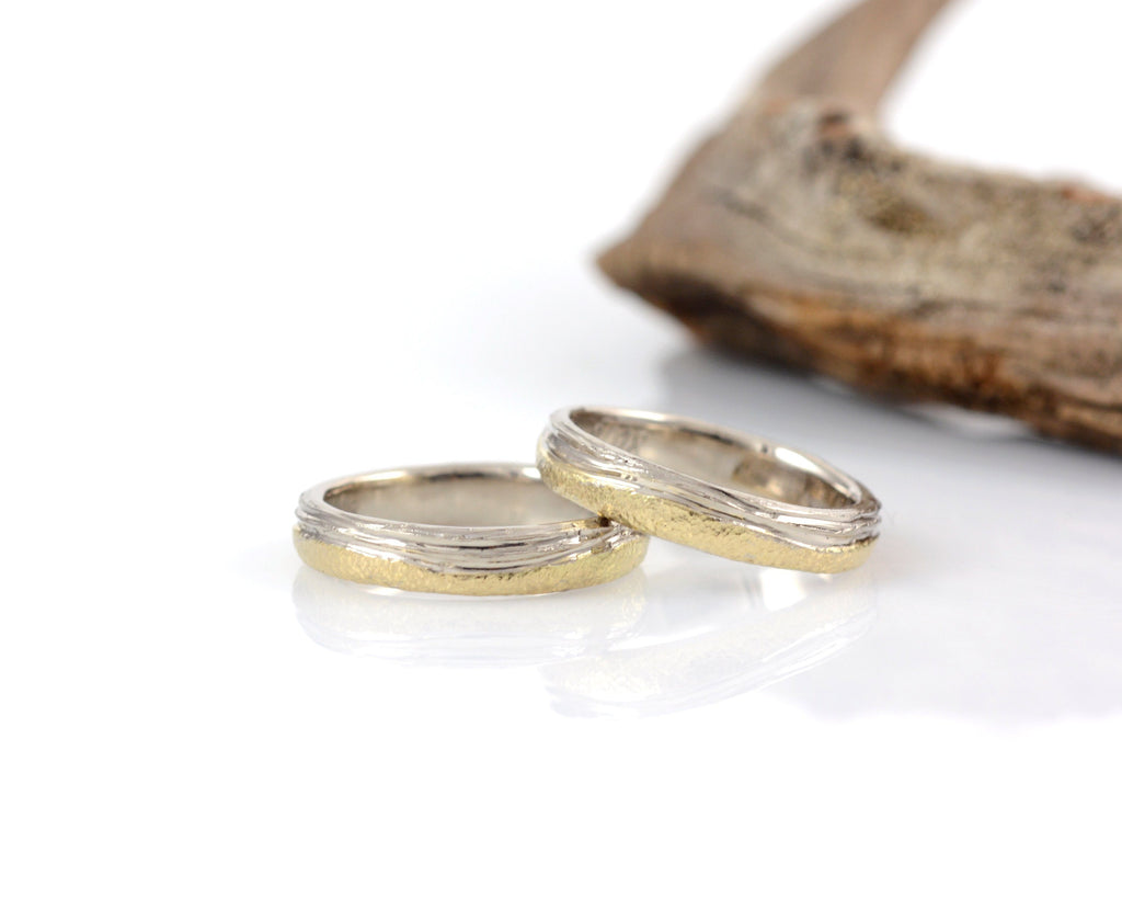 Custom Sea and Sand rings - final payment - Beth Cyr Handmade Jewelry
