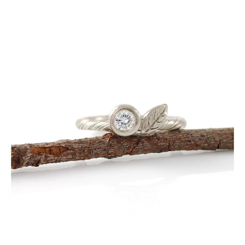 and best engagement sterling branch on band pinterest tree images twig leaf ring wedding silver rings