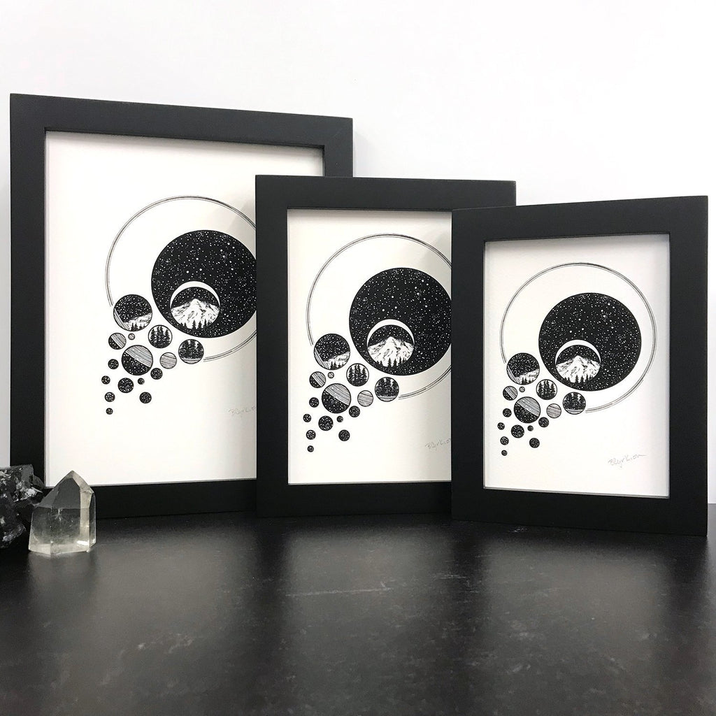 Add a Frame to a Print or Original - Beth Cyr Handmade Jewelry