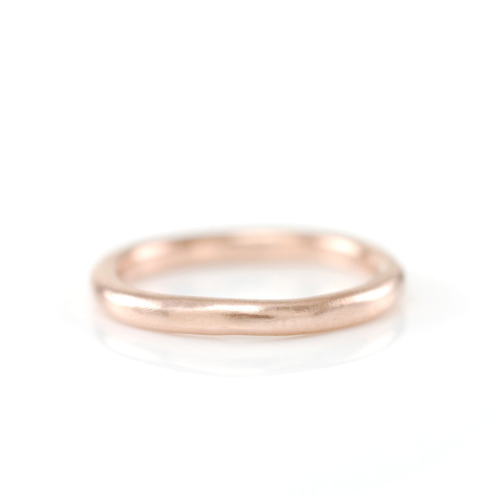Simplicity Ring in 14k Rose Gold - size 3 3/4 -  Ready to Ship - Beth Cyr Handmade Jewelry