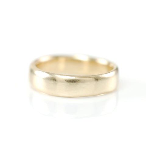 Simplicity Ring in 14k Yellow Gold - size 3 1/2 -  Ready to Ship - Beth Cyr Handmade Jewelry