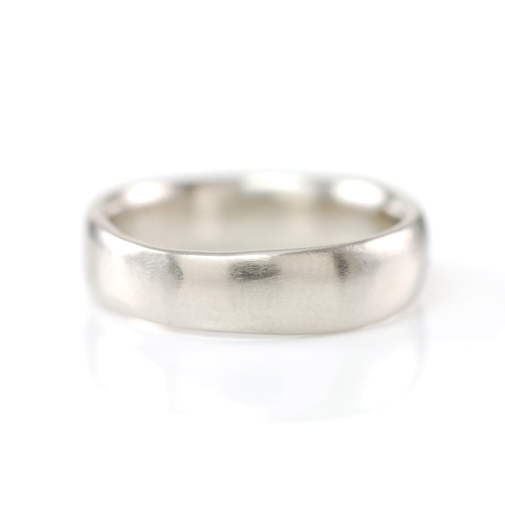 Simplicity Ring in Palladium/Silver - size 9 -  Ready to Ship - Beth Cyr Handmade Jewelry