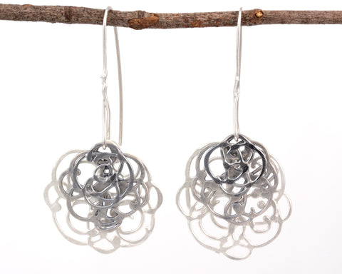 Triple Layer Organic Vine in Sterling Silver - Ready to Ship