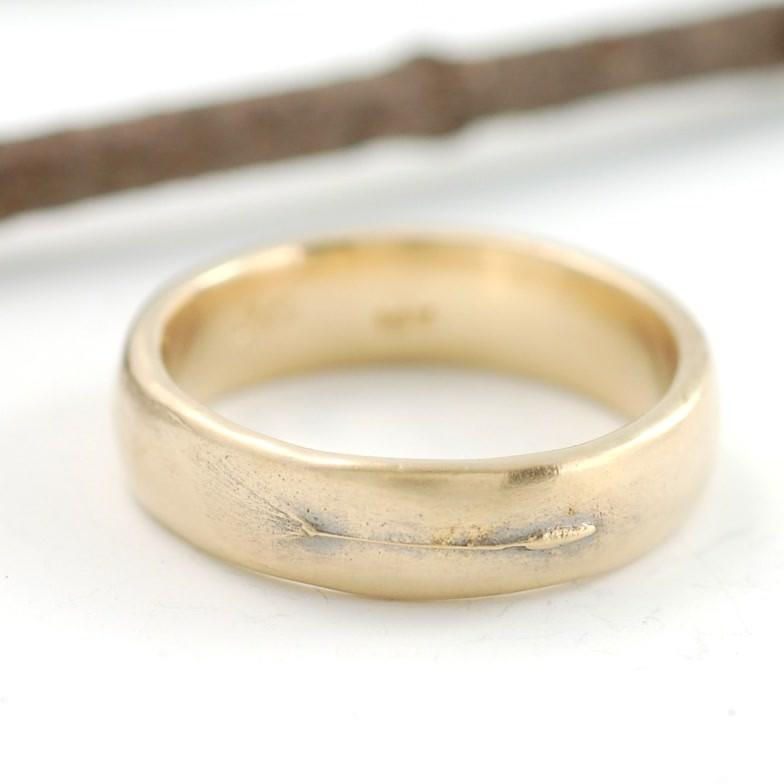 14k yellow gold dandelion ring - nature inspired rings by Beth Cyr