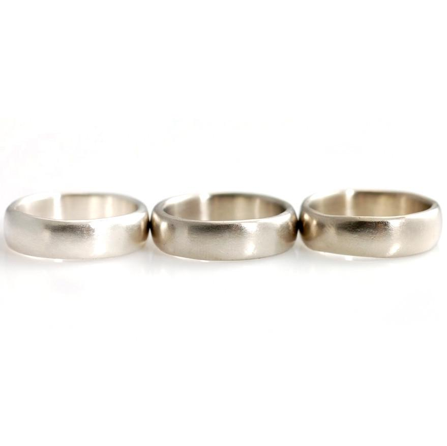 Palladium Sterling Silver, Palladium Silver Alloy, 14k palladium white gold by artisan jeweler Beth Cyr