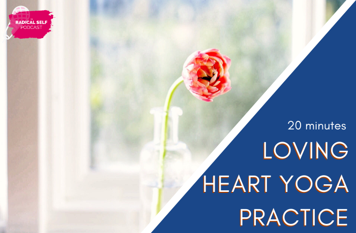 {E43} Loving Heart Opening - Audio Yoga Class