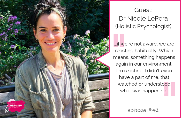 {E42} Anxiety & Mindfulness (with Dr. Nicole LePera)