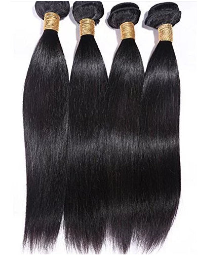 Bundles - Brazilian Human Hair - Straight Bundle Of 3 Pkg