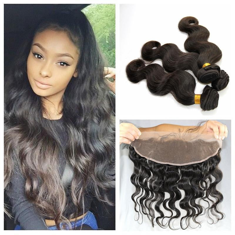 Frontals - Lace Frontal Sew In Weave Packages