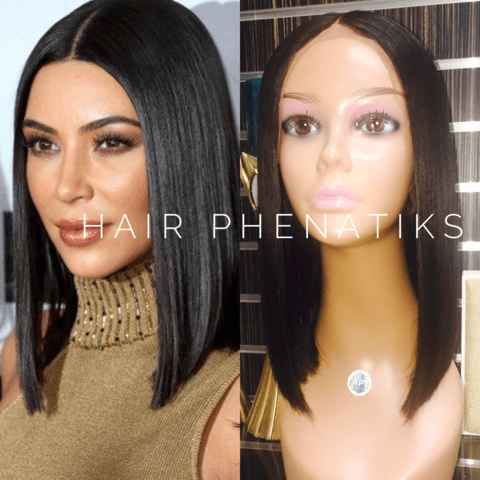 KIM K INSPIRED BOB - Hair Phenatiks f13ef265f565