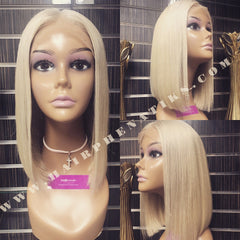 Lace Wig - King Kylie Inspired Blonde Bob Wig