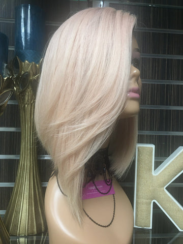 RITA ORA INSPIRED ROSE GOLD BOB