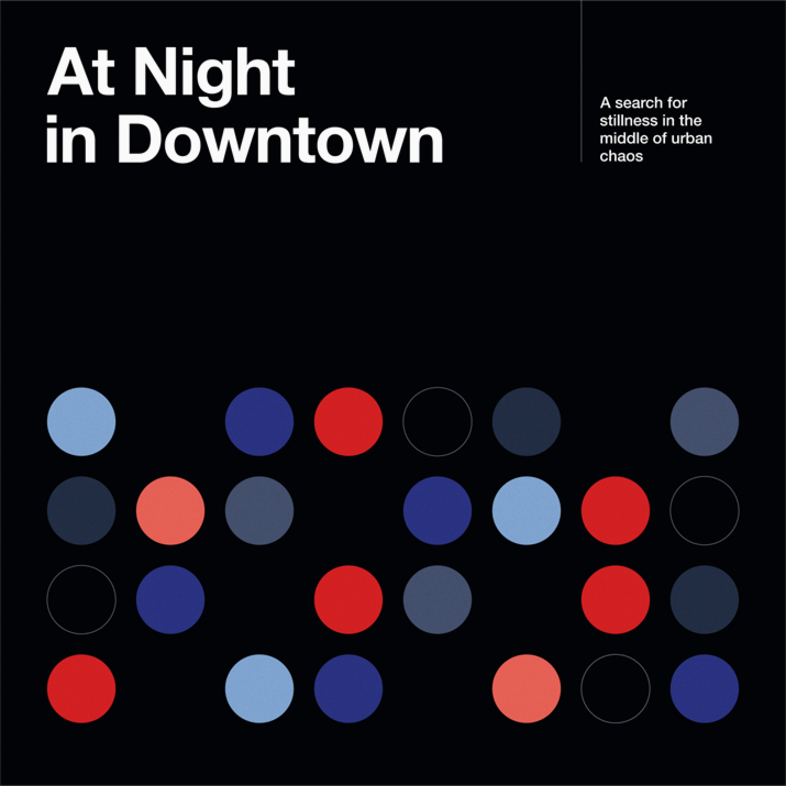 At Night in Downtown, Diogo Akio - Amoriz