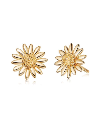 Daisy London - 10mm New Daisy Studs - Gold Plated