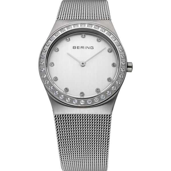 Bering Ladies Steel Mesh Strap Watch 12430-000