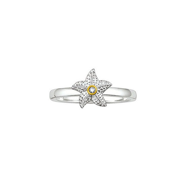 Thomas Sabo Sweet Diamonds Starfish Ring - SDR003-56