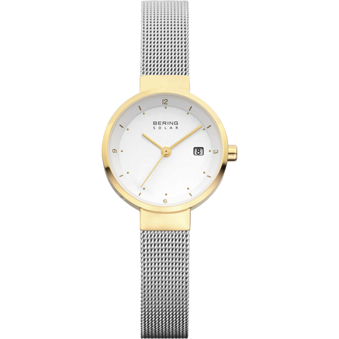 Bering Ladies Gold & Steel Watch 14426-010