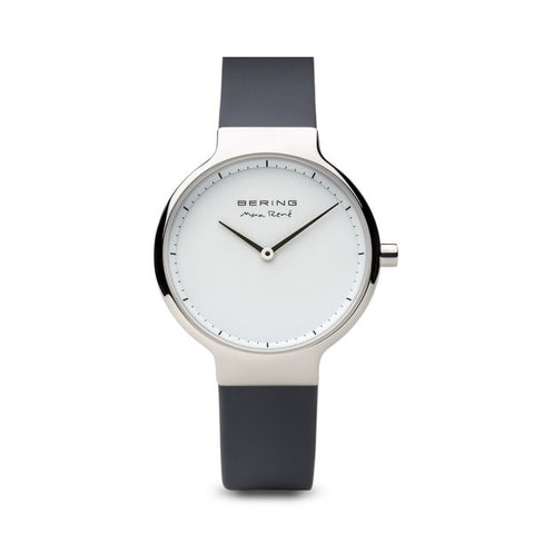 Bering Max René / Polished Silver / Grey (31mm) / 15531-400