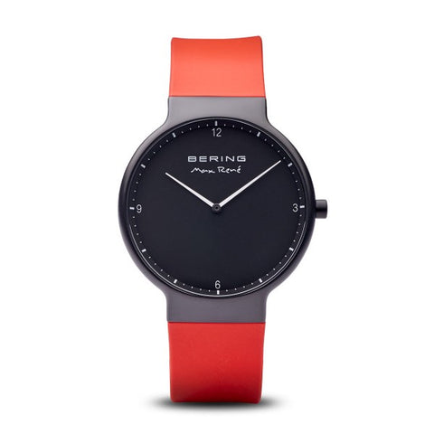Bering Max René / Black Matte / Red (40mm) / 15540-523