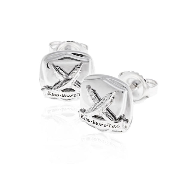 Gentlemen's Club Stud Earrings
