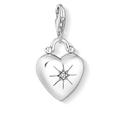 Thomas Sabo Charm Club CZ Heart Locket - CC1746