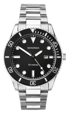Sekonda Men's Stainless Steel Bracelet Watch