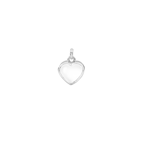 STOW Petite Heart Locket - Sterling Silver