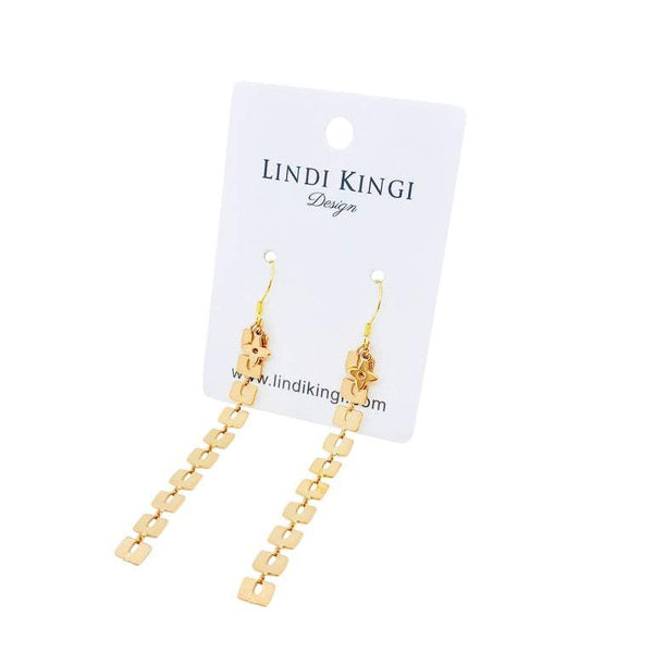 Lindi Kingi Summer Drop Earrings – Gold Plate