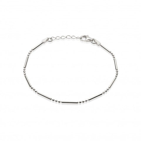 Daisy London- Stacked Essential Bracelet (Silver)