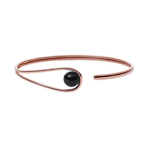 Skagen Rose Gold Steel Bangle SKJ1041
