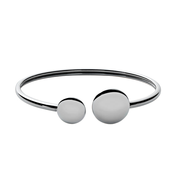 Skagen Silver Steel Flexi Bangle SKJ0782