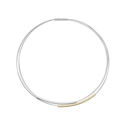 Skagen Elin Two-Tone Necklace SKJ1032