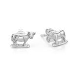 Silver Cow Studs