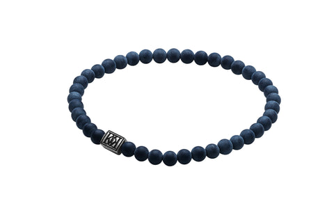 DEWAN AS MATT NAVY MENS BRACELET