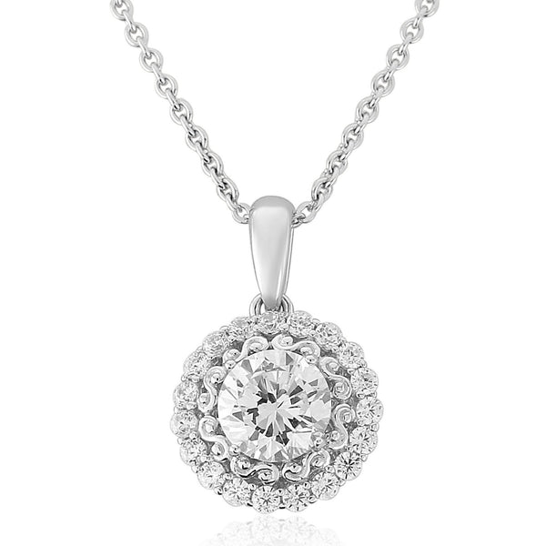 WATERFORD CZ SET PENDANT WP128