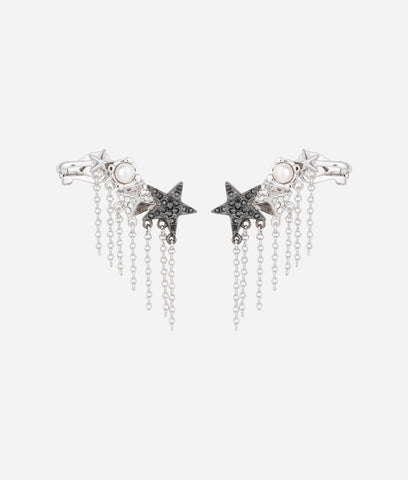 KARL LAGERFELD ECLECTIC EAR CUFFS