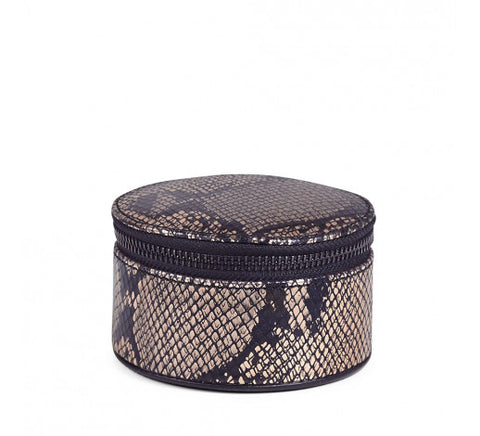 Markberg Lova Jewellery Box, Large, Metallic Snake
