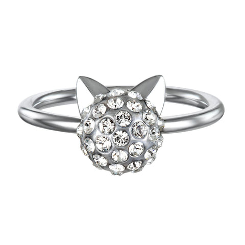Karl Lagerfeld Choupette Ring Size 55 - 5378069