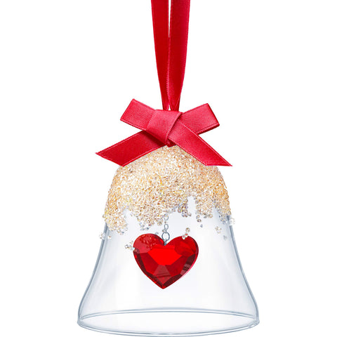 Swarovski - Christmas Bell Ornament Heart
