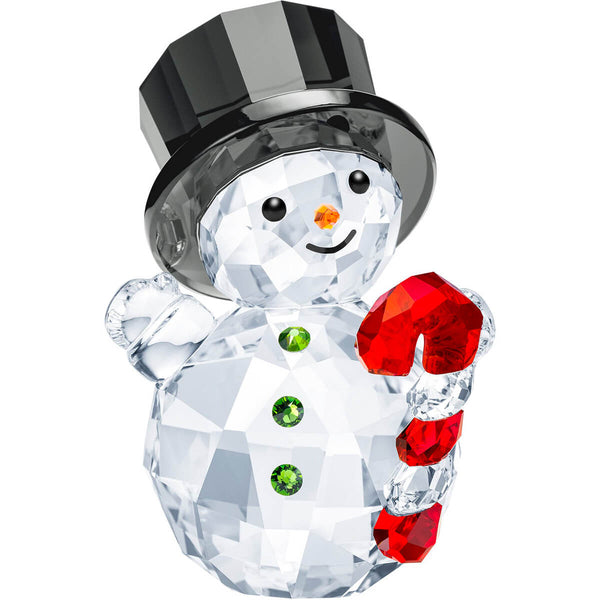 Swarovski - Snowman with Candy Cane