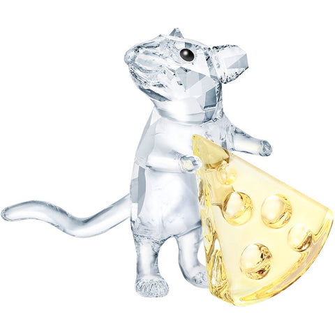 Swarovski - Mouse with cheese
