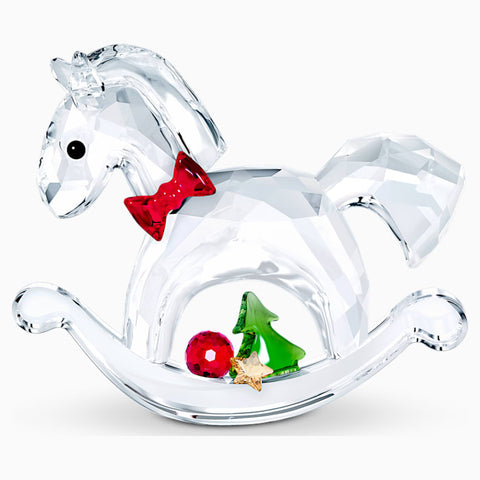 Swarovski Rocking Horse - Happy Holidays